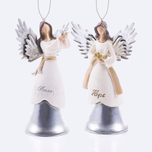 Angels - hanging decoration - bell - Decorato