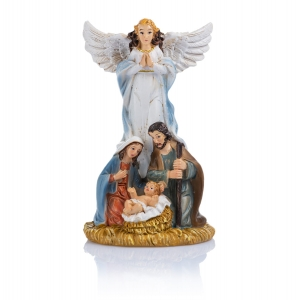 Figurine - Holy Family - angel - 11 cm - Classic