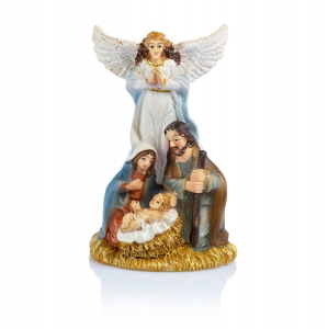 Figurine - Holy Family - angel - 7 cm - Classic