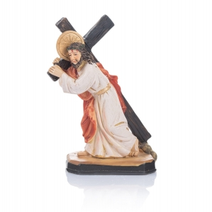 Figurine - Christ Carrying the Cross - 20 cm