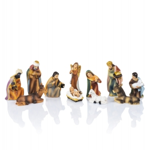 Nativity set - 5,5 cm - Classic