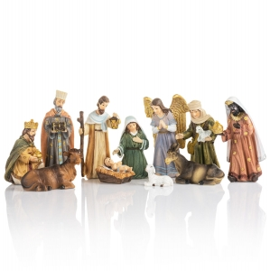 Nativity set - 10,5 cm - Classic
