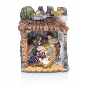 Nativity set - Holy Family - 6 cm - Classic