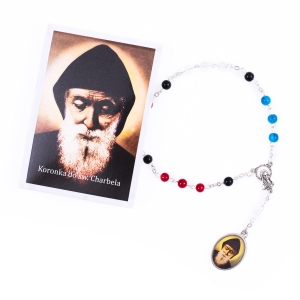 Chaplet of st. Charbel - prayer instruction - Polish