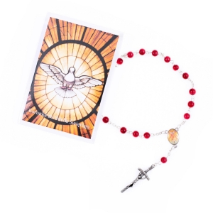 Chaplet of Holy Spirit - prayer instruction - Polish
