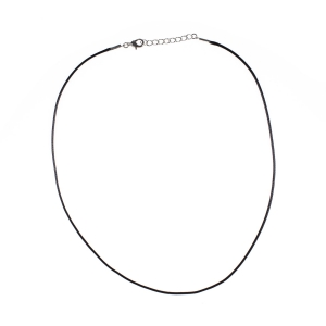 Necklace - single leather cord
