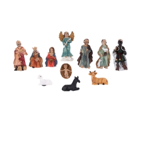 Nativity set -  set of magnets - Classic