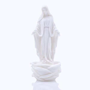Stoup - Our Lady Immaculate - Alabaster