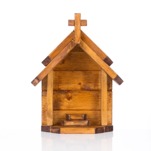 Wooden shrine