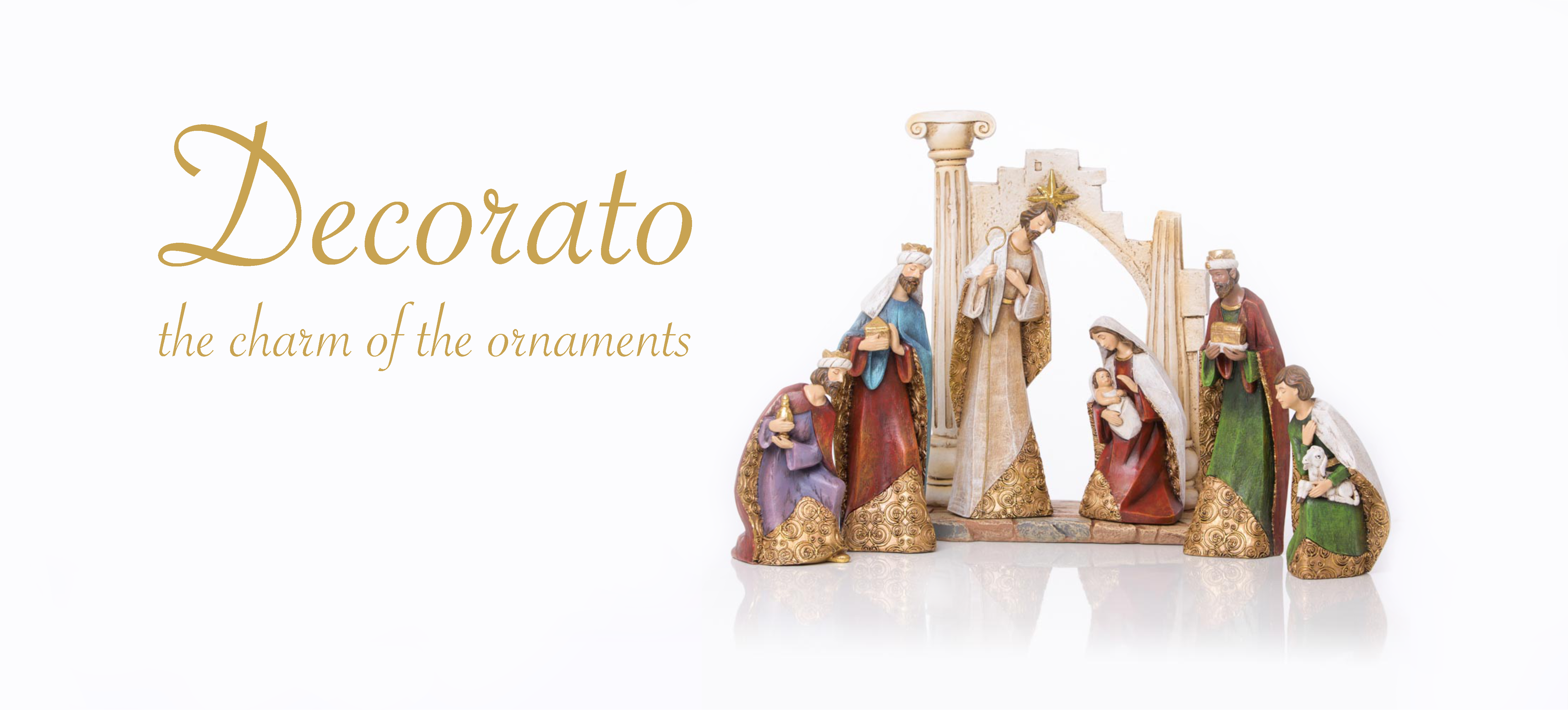Nativity Sets Decorato
