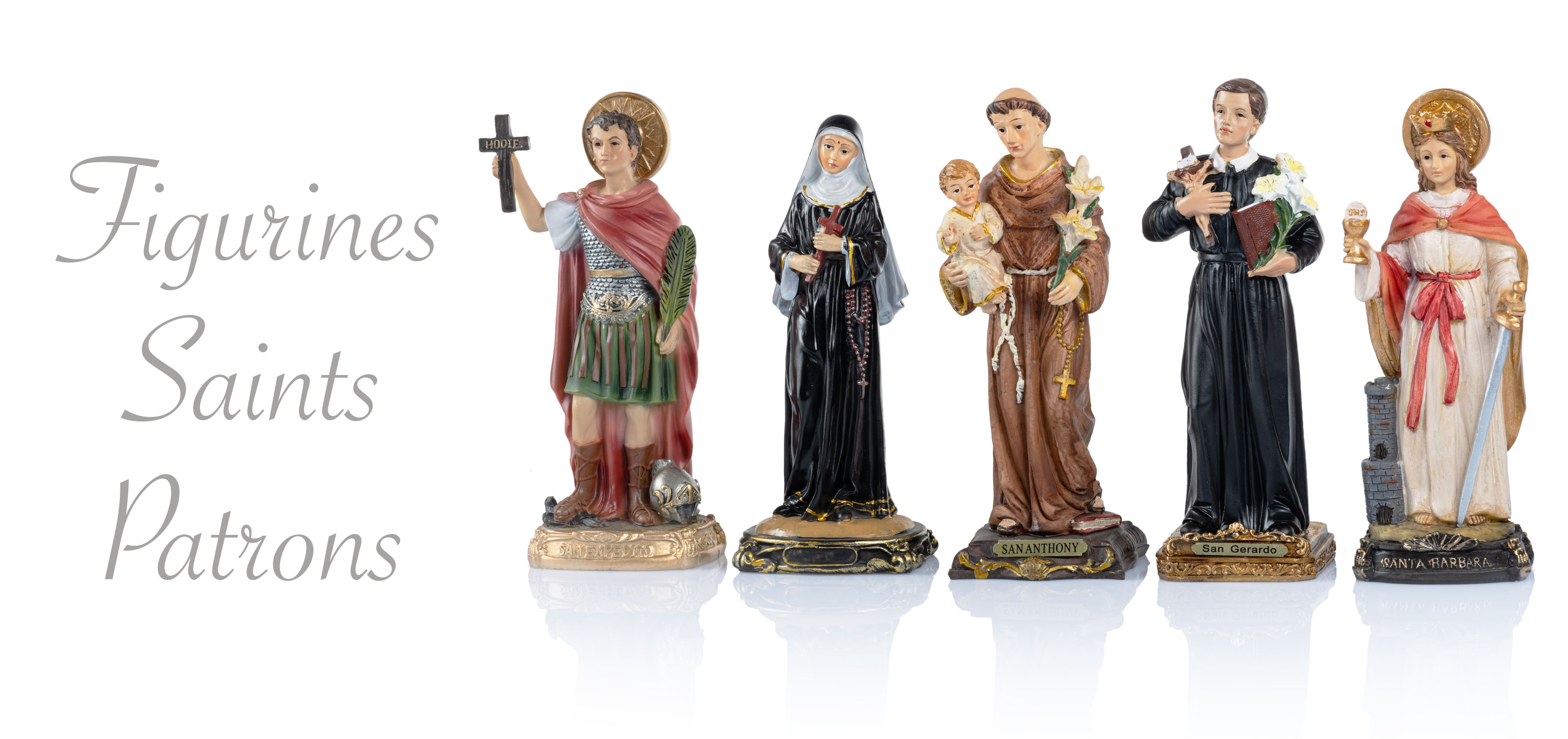 Figurines Saints Patrons