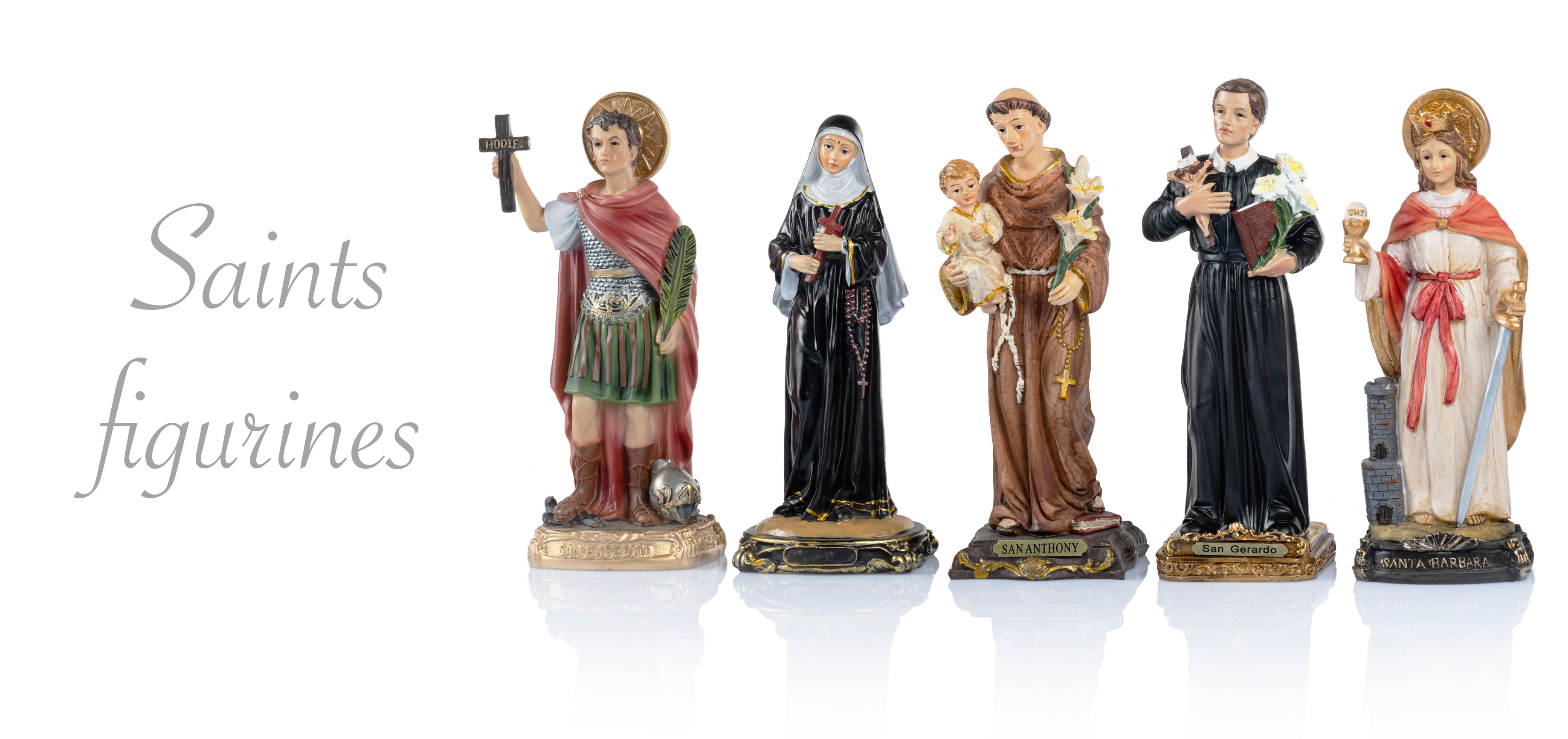Saints figurines